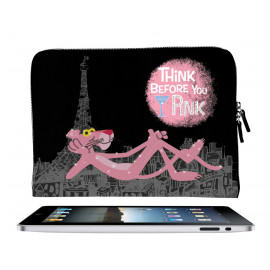 Cover Porta ipad Tablet Similpelle Pantera Rosa *14764