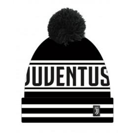 Cappello Adulto Invernale Ponpon Jaquard Fc Juventus  PS 17772