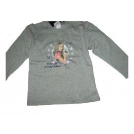 T-shirt Felpa maglia manica lunga Hannah Montana *13396
