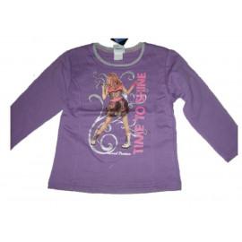T-shirt felpa maglia manica lunga Hannah Montana Time to Shine *13409