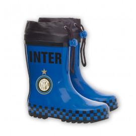 Stivali in gomma antiacqua F.C. Internazionale stivaletti tifosi Interisti 24765 pelusciamo
