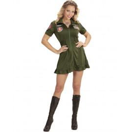 Costume Carnevale Donna Pilota di Jet da Combattimento PS 26257 Pelusciamo Store Marchirolo