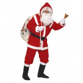 Travestimento Babbo Natale Lusso Vestito Natalizio Santa Claus PS 07840 Pelusciamo Store Marchirolo