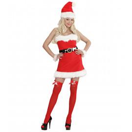 Abito Natalizio Donna Babbo Natale PS 25823 Miss Santa Pelusciamo Store Marchirolo