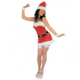 Abito Natalizio Donna Babbo Natale PS 25827 Miss Santa
