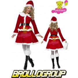 Costume carnevale abito donna vestito Miss Babba Natale smiffys *12199 pelusciamo.com