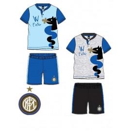 Pigiama corto Bambino Bimbo Fc Internazionale abbigliamento ufficiale Inter *17984