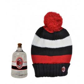 Abbigliamento Milan gadget tifosi cappello rasta ponpon Acm 1899 *18533