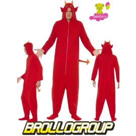 Costume Halloween Carnevale Adulto Diavolo Eco | pelusciamo.com