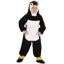 Costume Carnevale Pinguino in Peluche PS 26402 Taglia Unica 2/3 Anni Pelusciamo Store Marchirolo