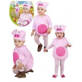 Costume Carnevale Bimbo Pig Travestimento Bambino Maialino PS 19960 pelusciamo store