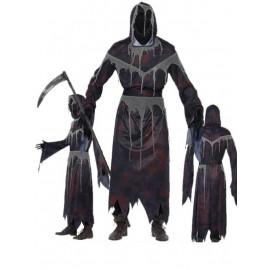Costume Halloween Carnevale Adulto Morte Senza Volto Smiffys | pelusciamo.com