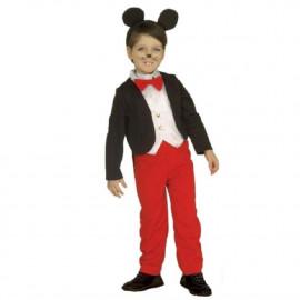 Costume Carnevale Bimbo Topino, Topolino Frac   | pelusciamo store
