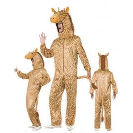 Costume Carnevale Adulto Mascotte Giraffa, serie Animali  | Pelusciamo Store