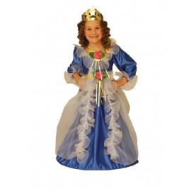 Costume Carnevale Bimba, Principessa Reale Princess | Pelusciamo.com