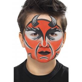 Truccabimbi Make Up Carnevale Halloween kit trucchi Diavolo accessorio *18724