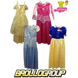 Costume Carnevale Bambina Principesse Disney Cenerentola Biancaneve aurora | pelusciamo.com