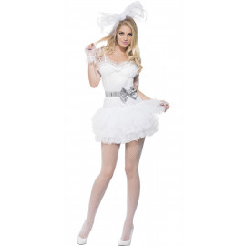 Costume Carnevale Donna  da Sposa Tutu' dress smiffys | Pelusciamo.com