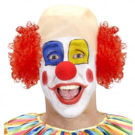 Calotta da Clown Capelli Ricci Rossi PS 26453 Parrucche Carnevale Pelusciamo Store Marchirolo