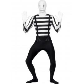 Costume carnevale uomo Halloween Adulto Seconda Pelle Mimo smiffys 24619 *17039