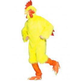 Costume Carnevale Adulto Gallo chicken travestimento smiffys *07414