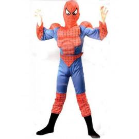 Costume carnevale Spiderman Bambino uomo ragno con Muscoli | pelusciamo.com