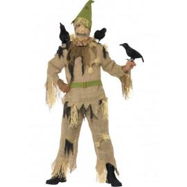 Costume Halloween Adulto Spaventapasseri , Carnevale