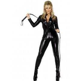 Costume Carnevale Donna Sexy Mistress Nero smiffys *09877