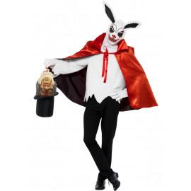 Costume Halloween Carnevale Adulto Coniglio Horror Circo Smiffys