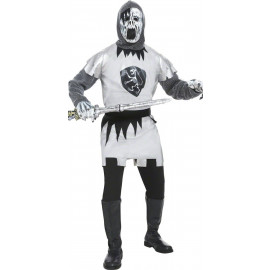 Costume Carnevale Halloween Adulto Cavaliere Fantasma Smiffys