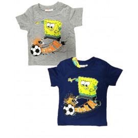Maglietta Bambino Spongebob Calciatore, T-shirt Bimbo R23204