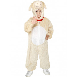 Costume Carnevale Bimbo Agnello lamb party animal smiffys *12338