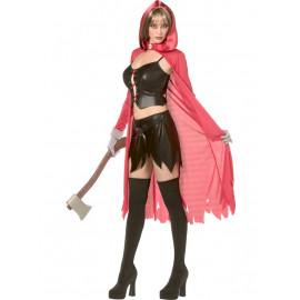 Costume carnevale travestimentoCappuccetto Rosso Rebel Toon *12544