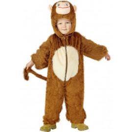 Costume Carnevale Bimbo Scimmia travestimento Bambino *07417