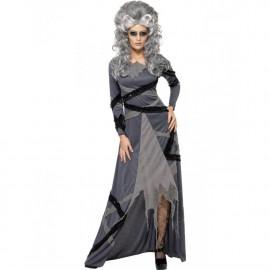Costume Halloween Carnevale Donna Sposa Strega Gotica Smiffys *08984