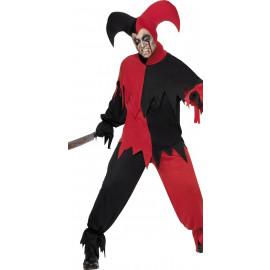 Costume Halloween Adulto Giullare Dark Horror  | Pelusciamo.com