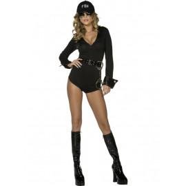 Costume Carnevale Donna FBI Sexy  Poliziotta | Pelusciamno.com