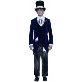 Costume Halloween Carnevale Adulto Sposo Fantasma smiffys | pelusciamo.com