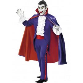 Costume Halloween Carnevale Adulto Conte dracula Vlad vampiro