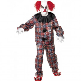 Costume Halloween Carnevale Adulto Clown Circo Horror Smiffys
