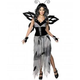 Costume Halloween Carnevale Donna Fata alata della Foresta Smiffys