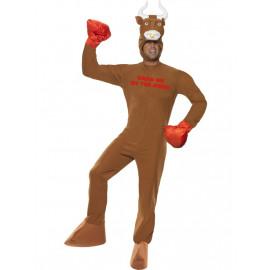 Costume Carnevale Adulto Toro Boxing travestimento Smiffys *15110