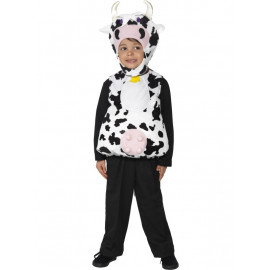 Costume Carnevale Bambino travestimento Mucca party animal *12222