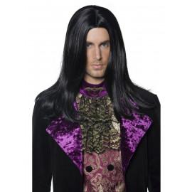 Parrucca Conte Gotico '800 per Costume di Carnevale *13893