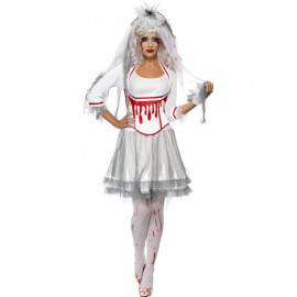 Costume Halloween Donna Sposa Horror