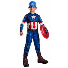 Costume Carnevale Capitan America The Avengers Marvel PS 26013 Pelusciamo Store Marchirolo