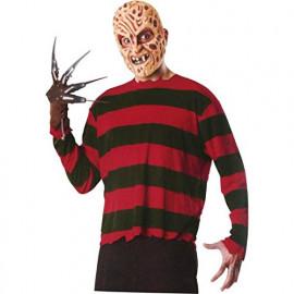 Set Nightmare Freddy Krueger Maschera Guanto e T-shirt PS 17173 Pelusciamo Store Marchirolo