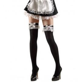 Calze Autoreggenti Cameriera Per Costume Carnevale PS 10113 Pelusciamo Store Marchirolo