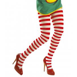 Collant Multicolore A Righe Per Costume Carnevale PS 10114 Pelusciamo Store Marchirolo