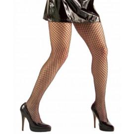 Calze A Rete Larga Nere Per Costume Carnevale PS 10117 Pelusciamo Store Marchirolo